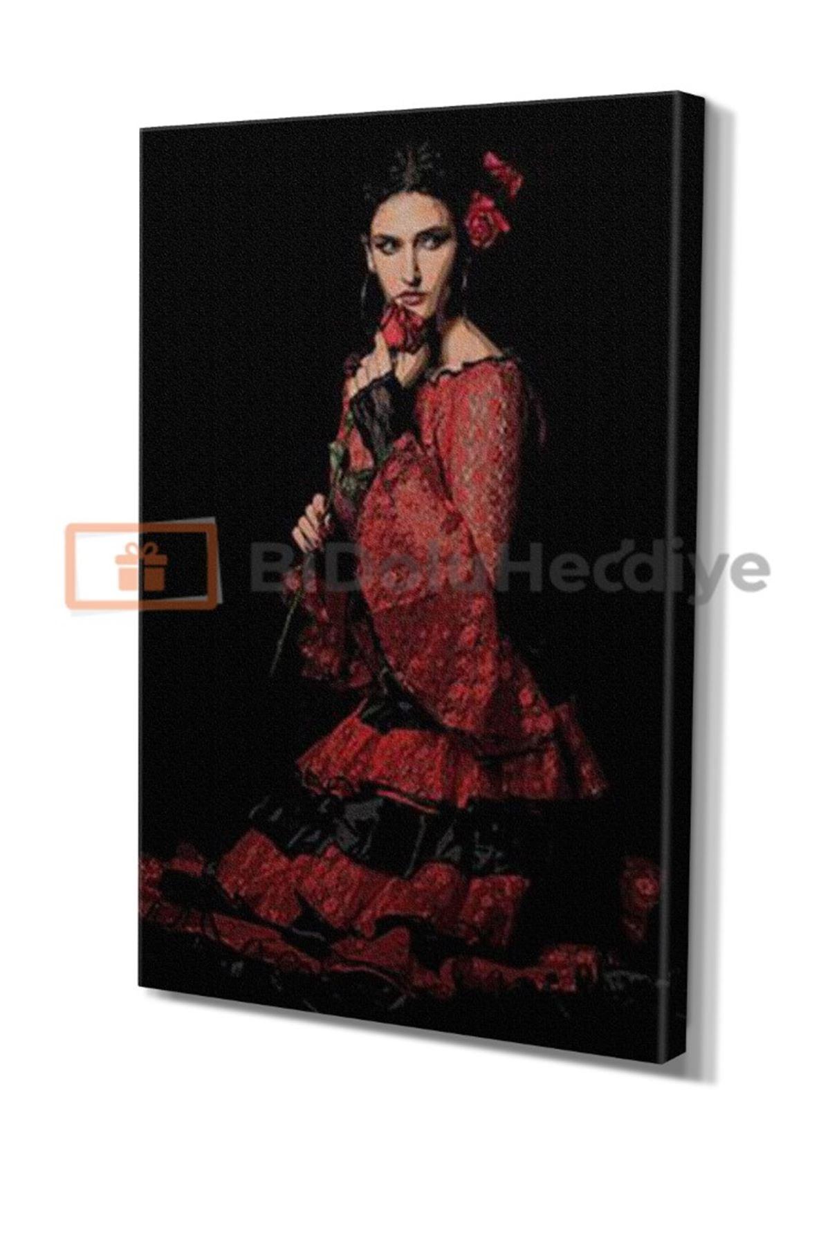 Flamenko Dansçı Kadın,  Flamenco Dancer Woman