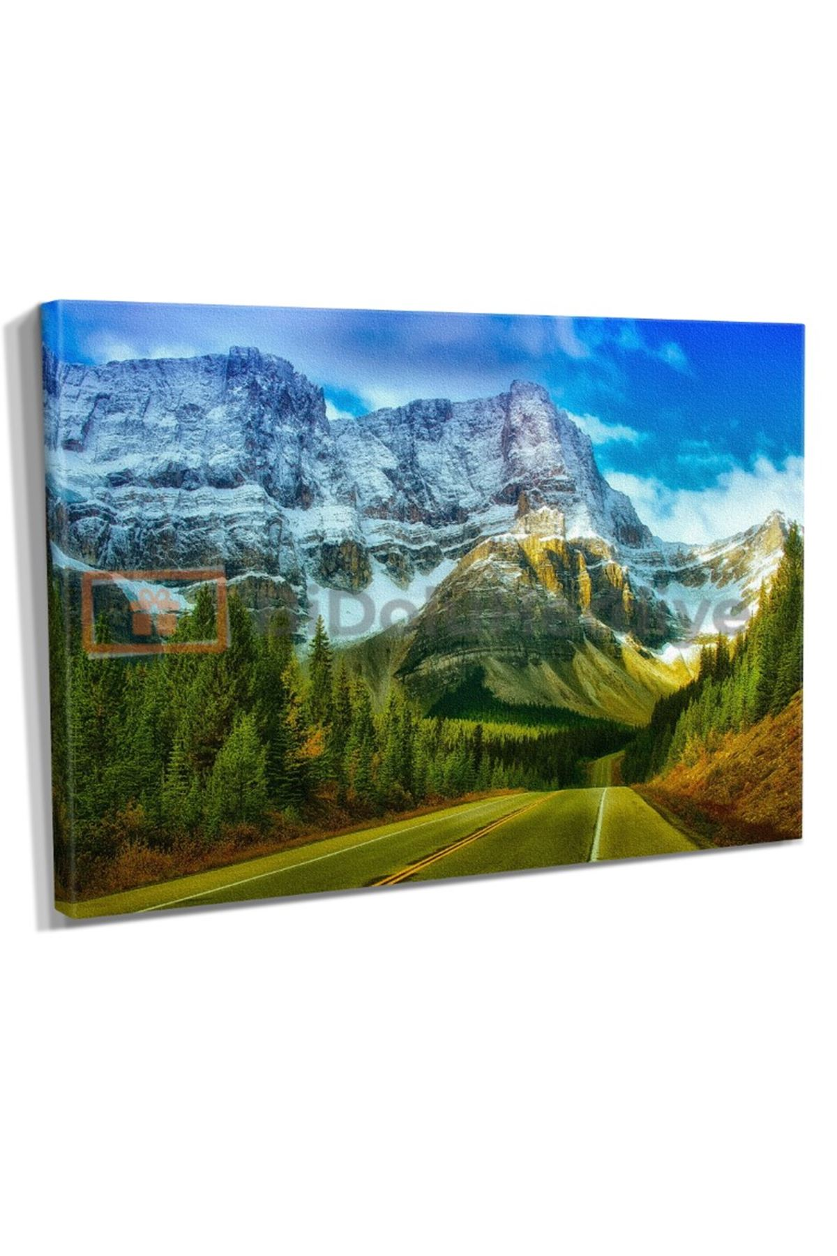Banff Kanada Kanvas Tablo