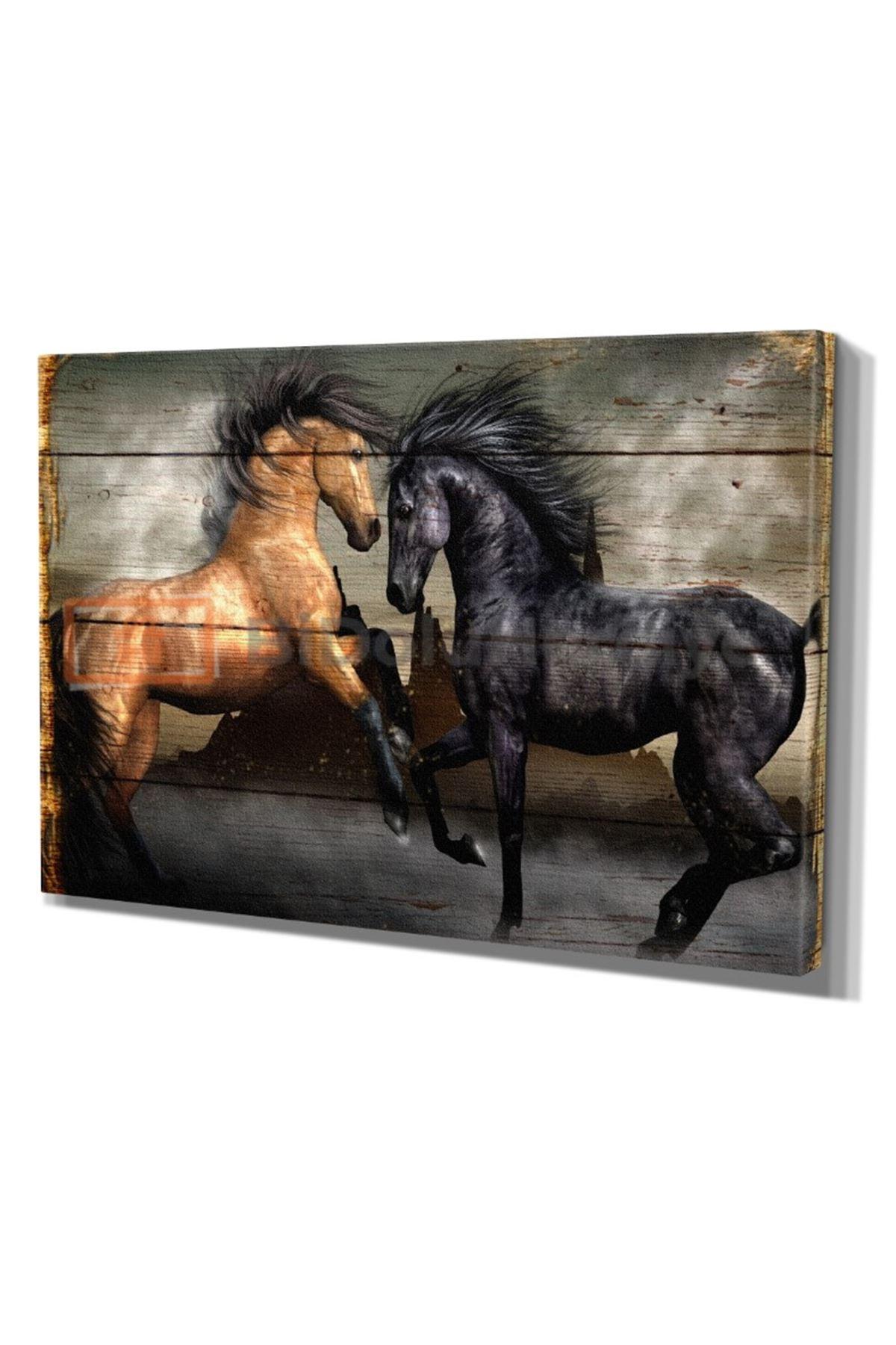 DİJİTAL BASKI AT (HORSE) TABLO