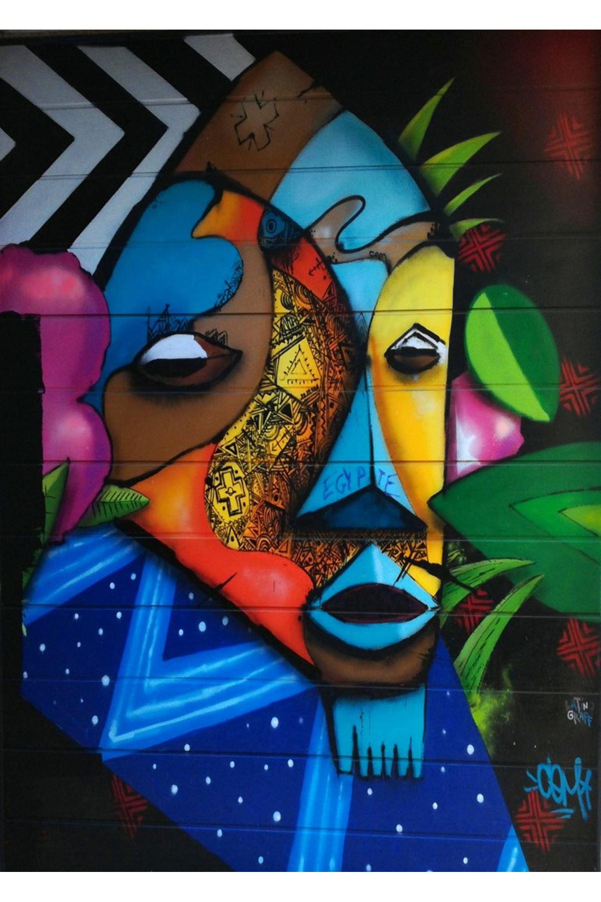 Graffiti Kanvas Tablo