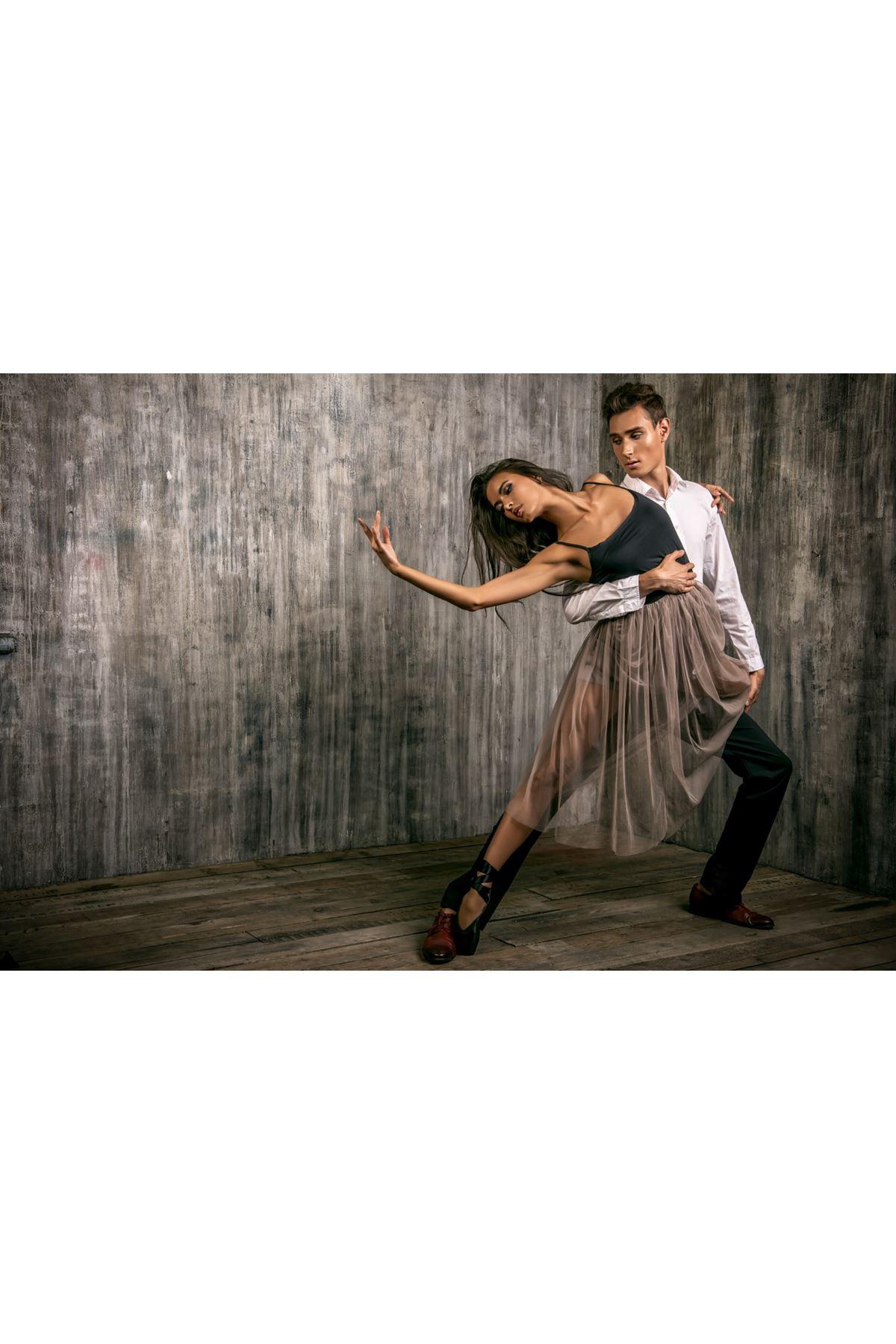 Balerin ve Dans Kanvas Tablo