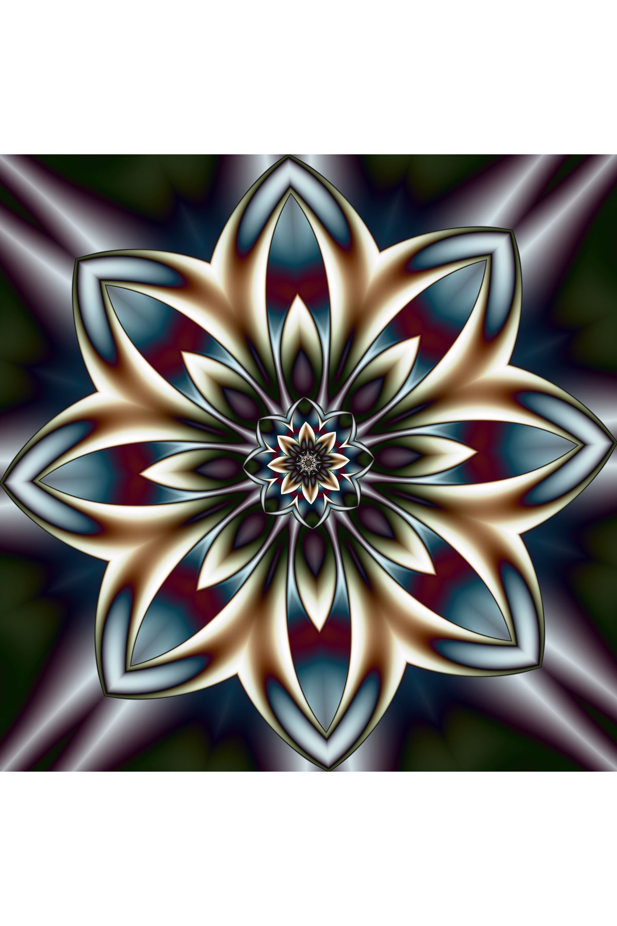 Yüksek Çözünürlüklü Çiçek Doku Kanvas Tablo