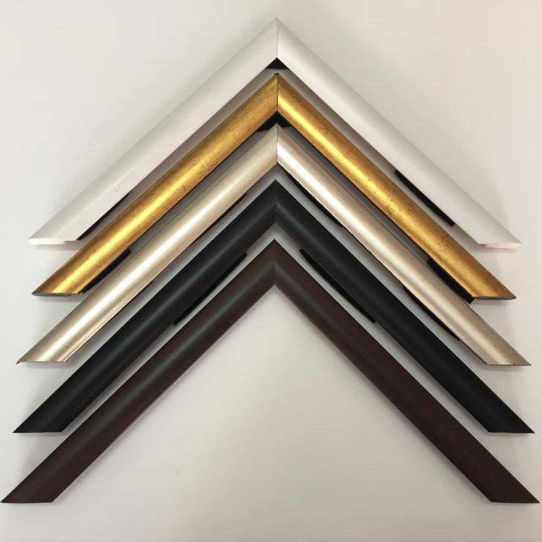 3D (KABARTMA) Görünümlü Gold İnci Ağaç Kanvas Tablo