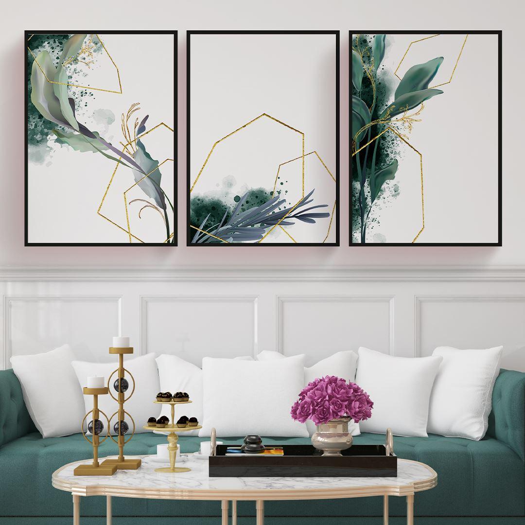 Modern Elegance Set Kanvas Tablo