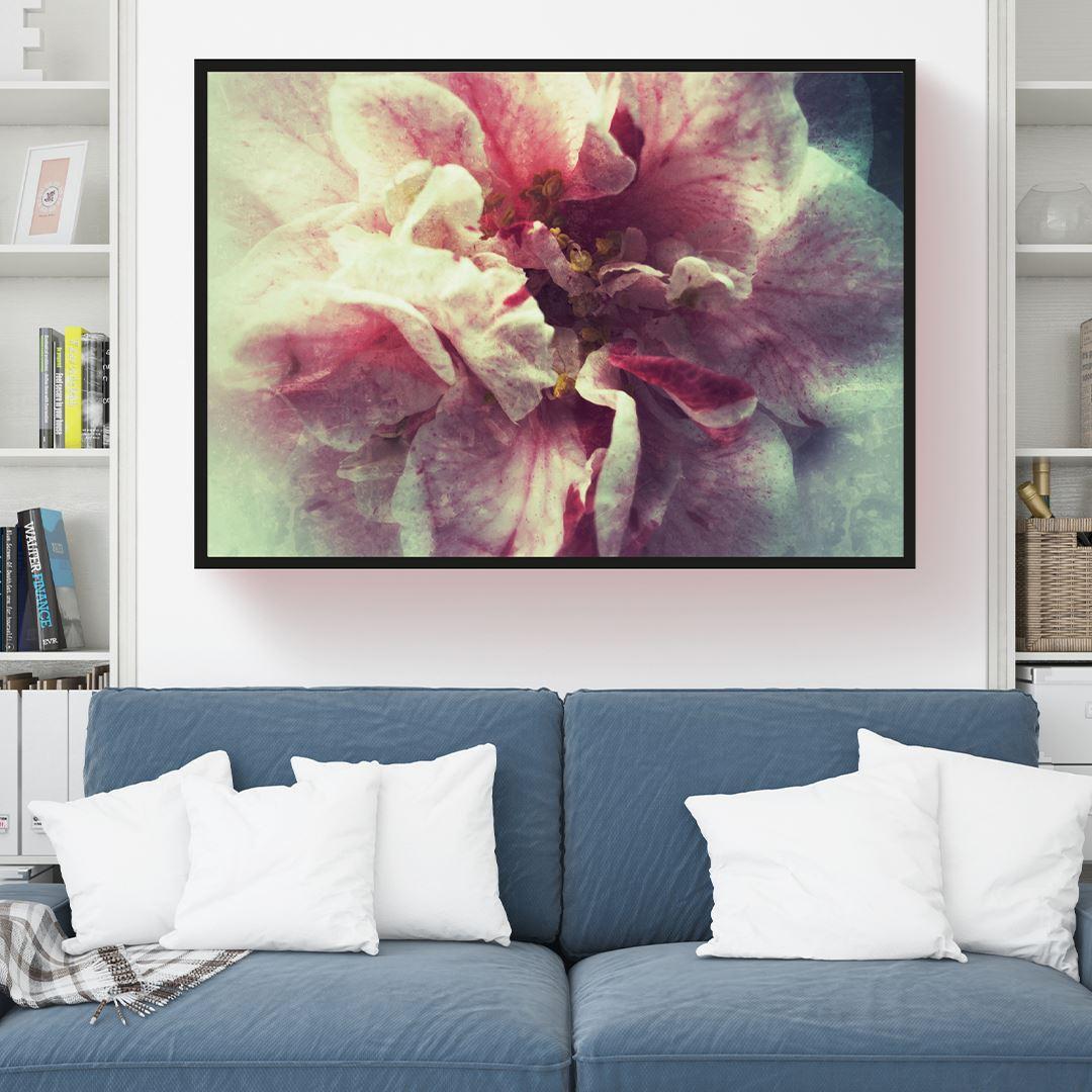 Large Camellia Canvas
