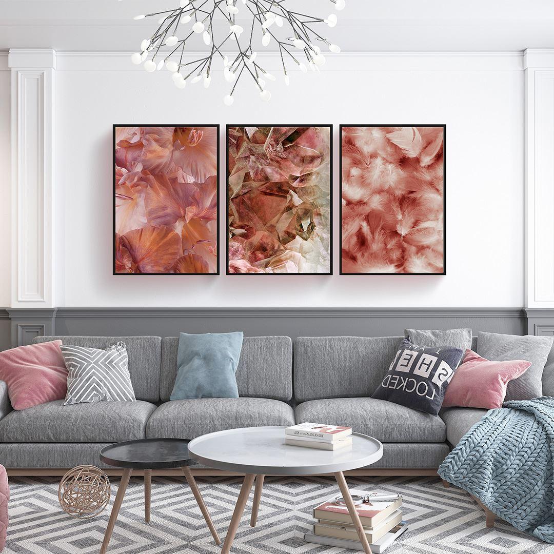 Natural Decor Canvas Set