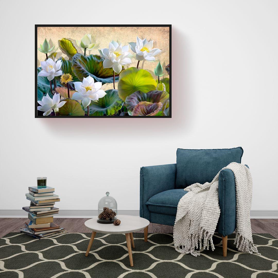 Modern Flower Canvas