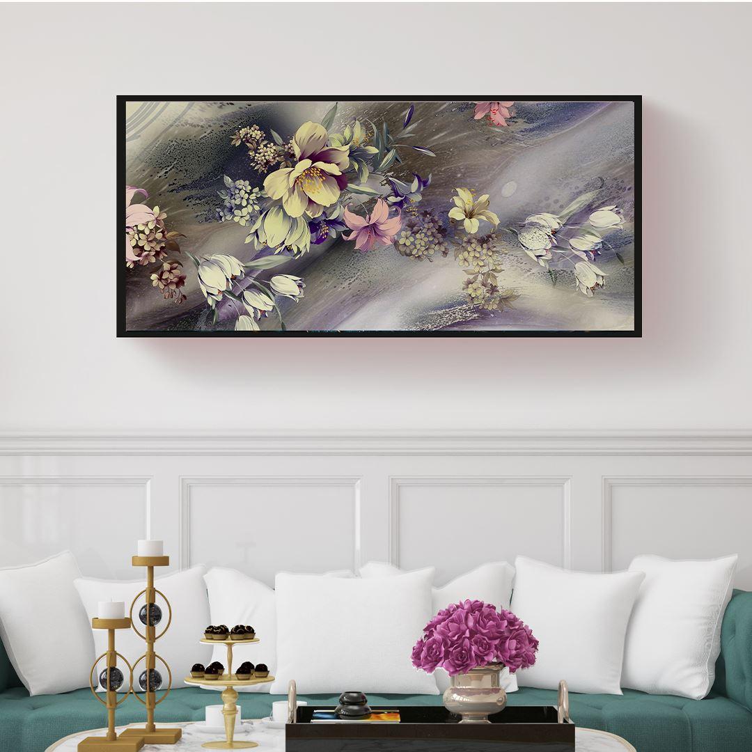 Panaromic Natural Floral's Canvas
