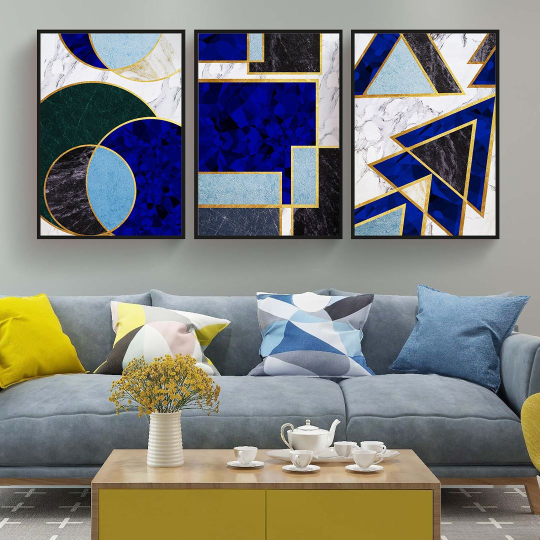 Geometric Canvas Set