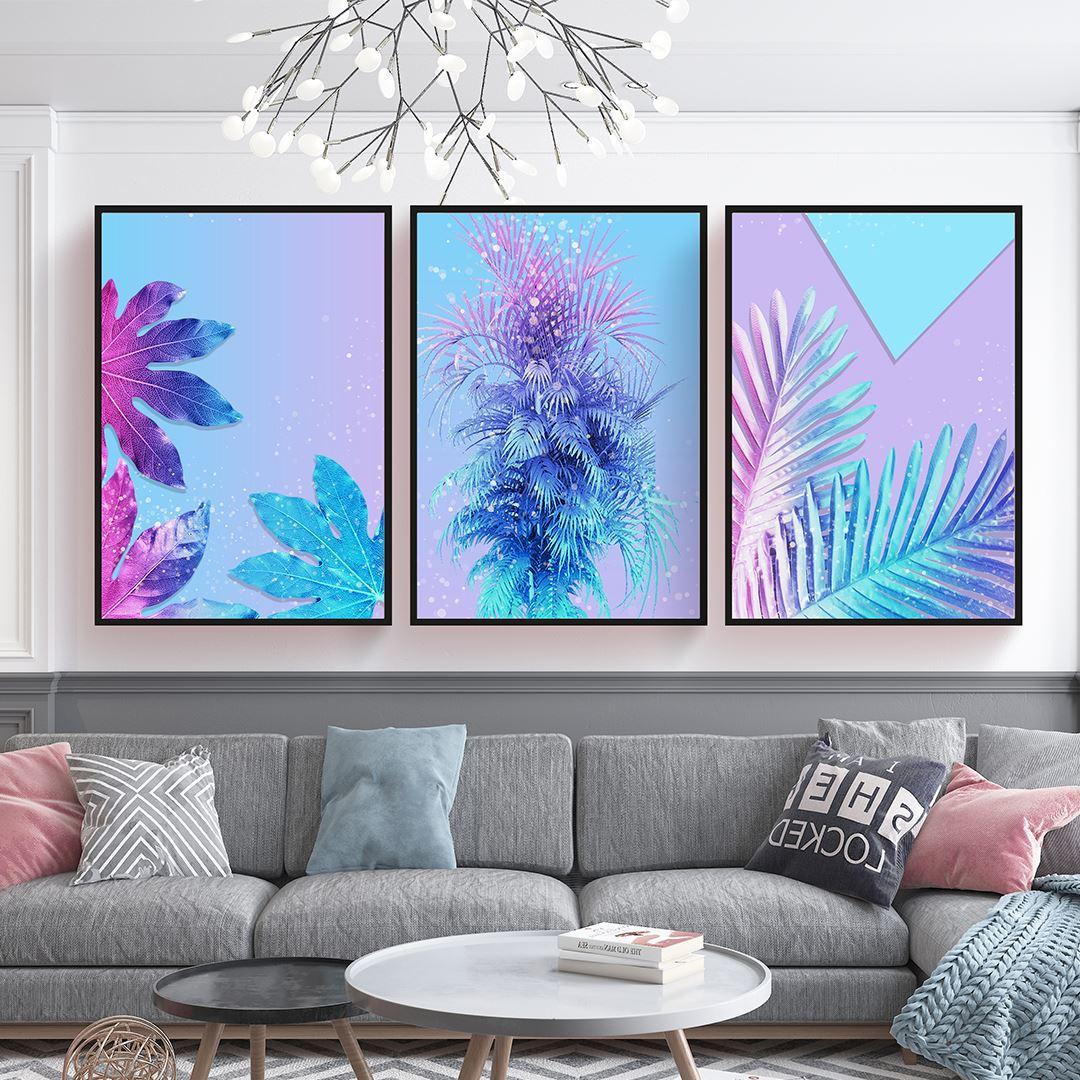 Luxury Tropical Canvas Set