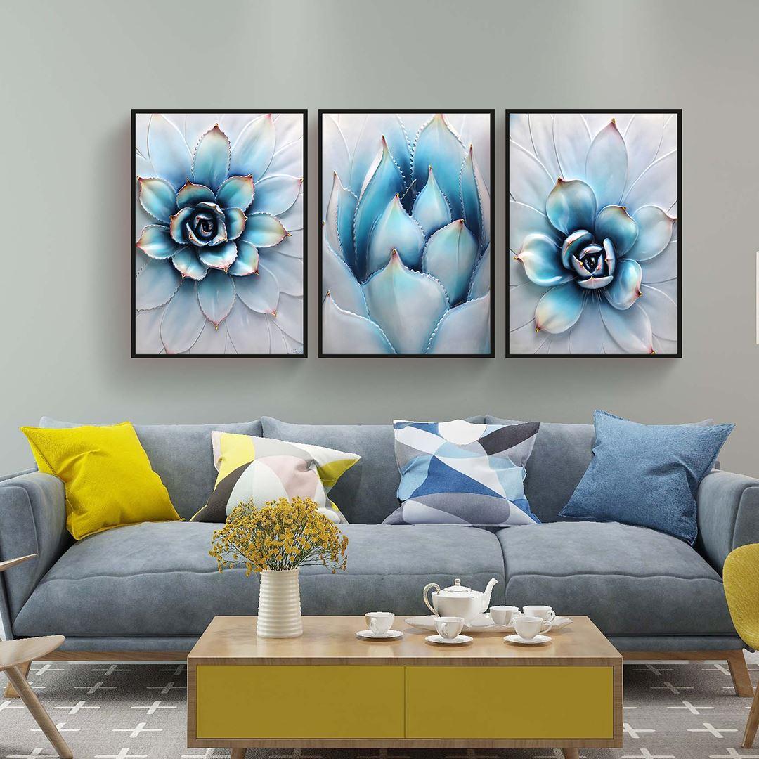 Luxury Flowers Canvas Set