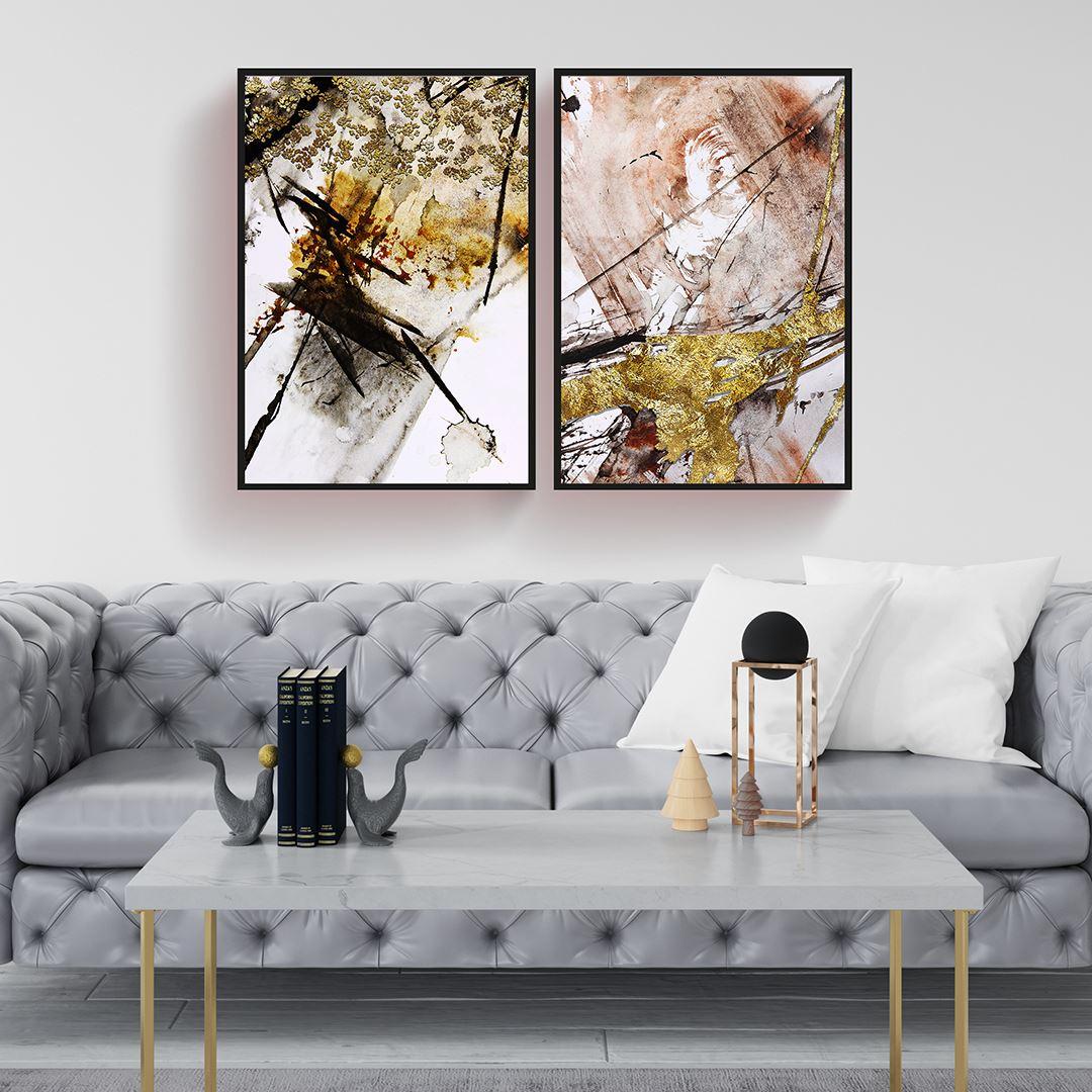 Modern Soyut Kanvas Set
