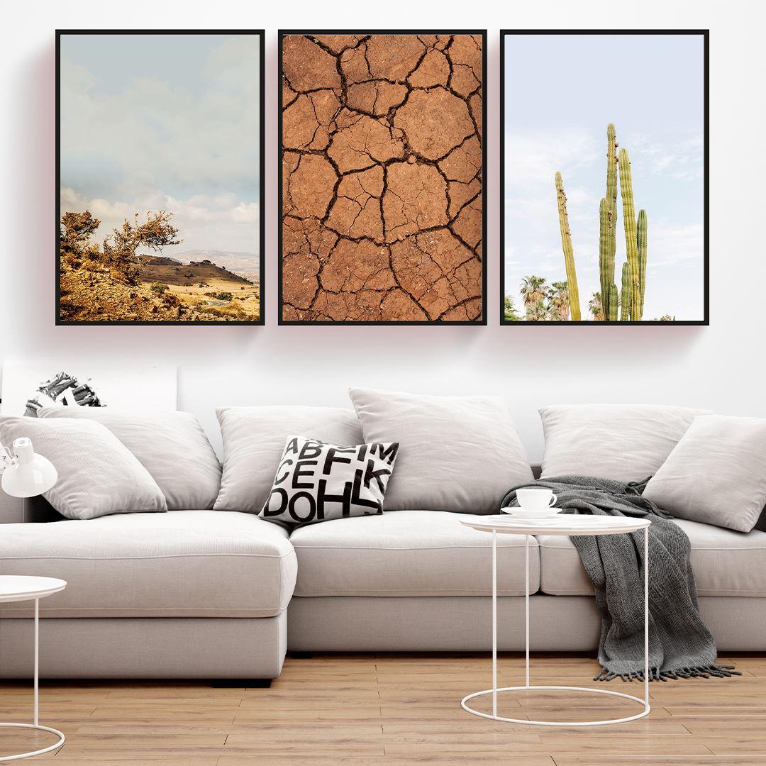 Çöl Temalı Kanvas Set