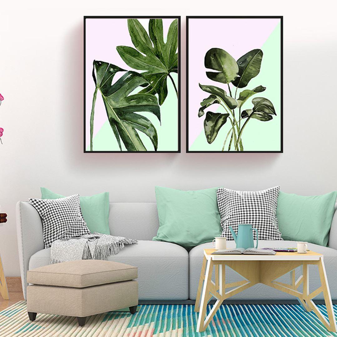 Botanic Decor Canvas Set