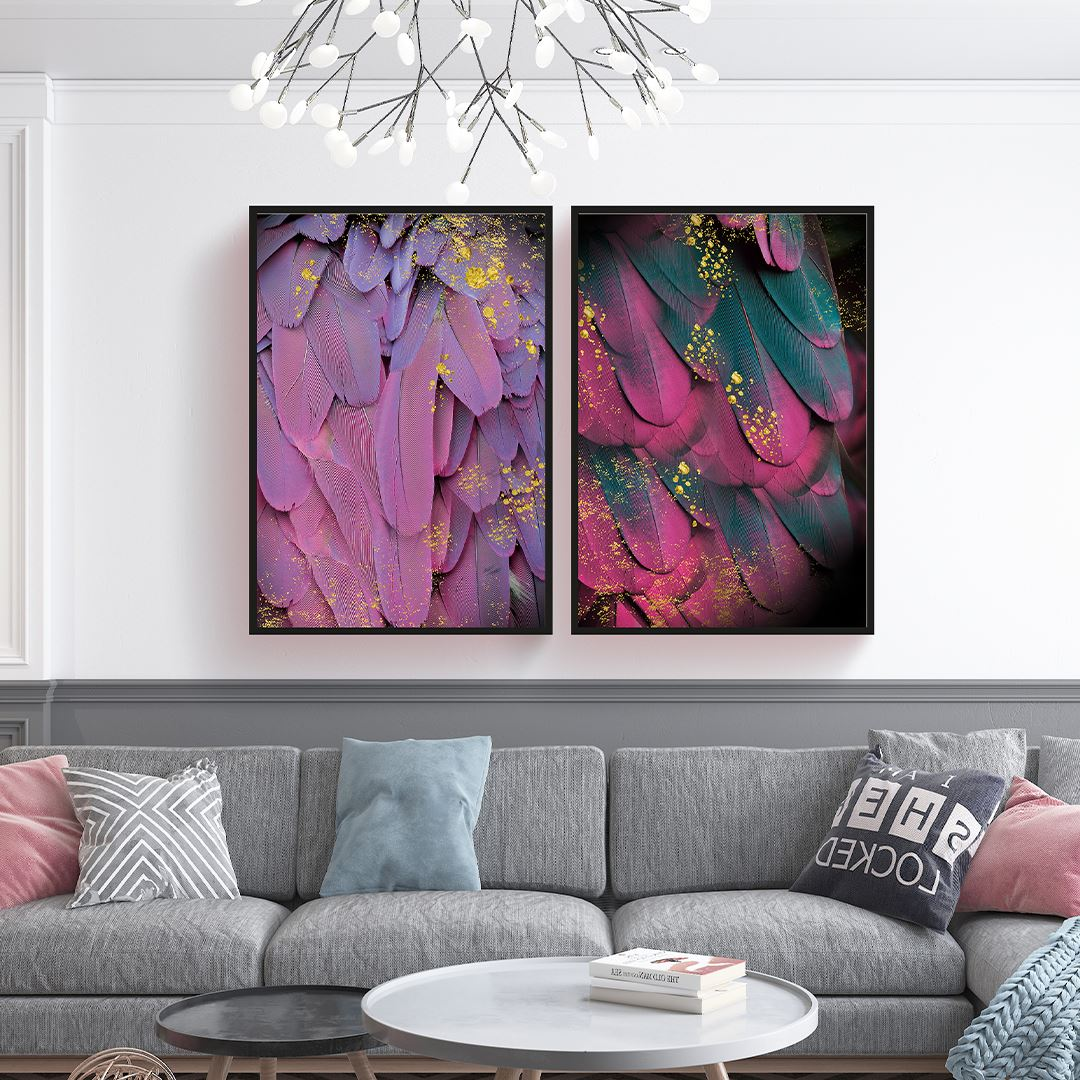 Sweet Feather Canvas Set