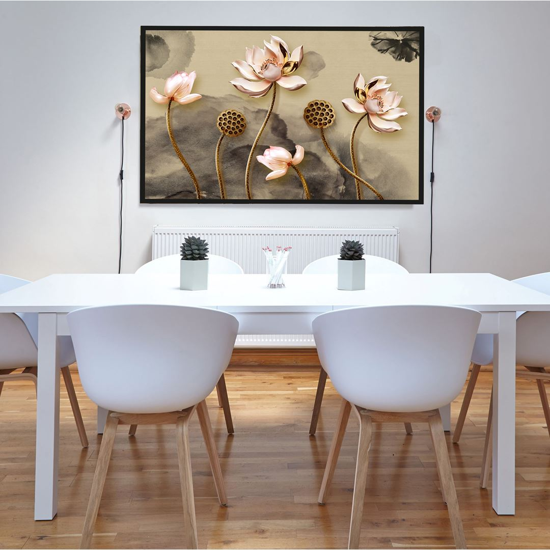 Lotus Flowers Canvas