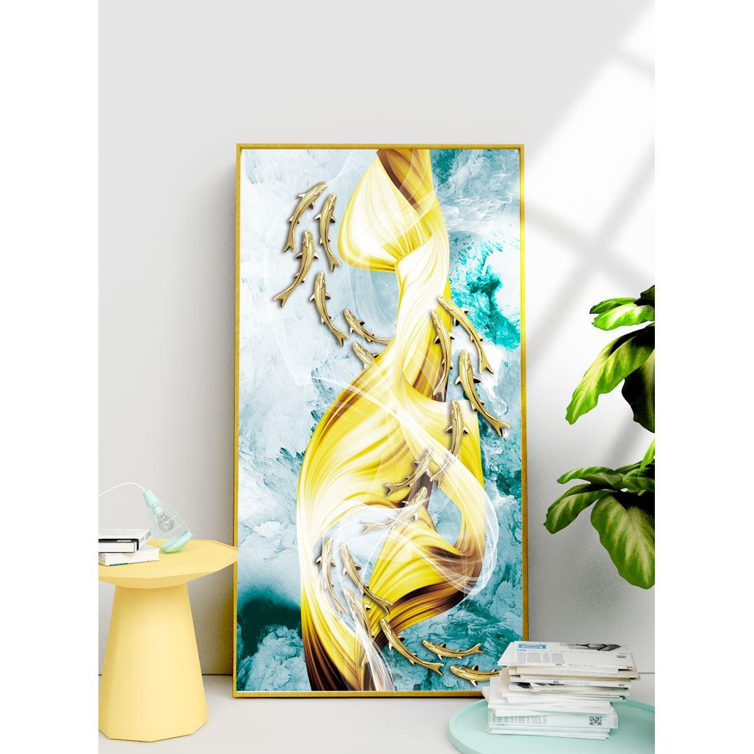 Altın Balıklar Kanvas Tablo