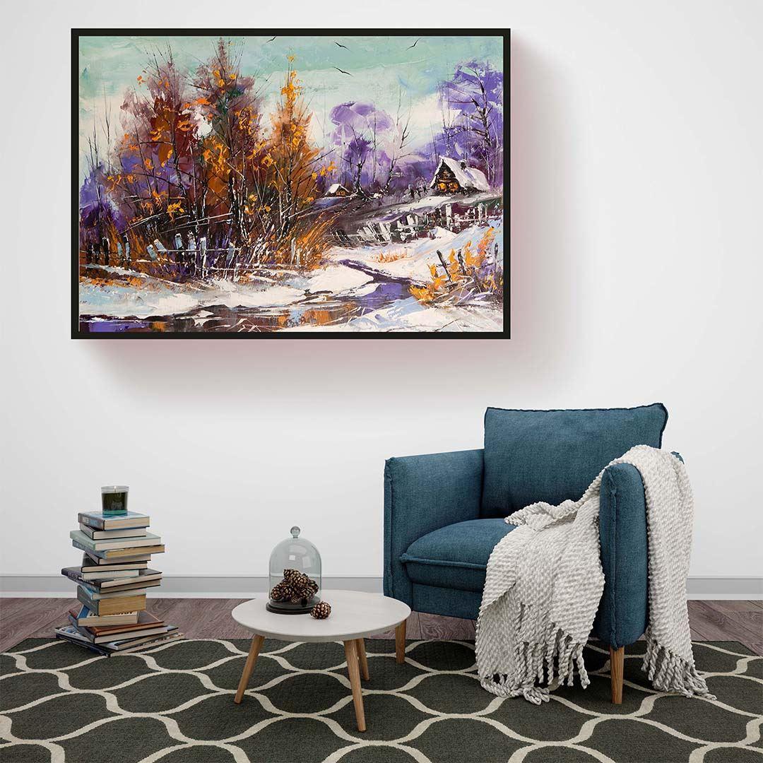 Winter Art Canvas