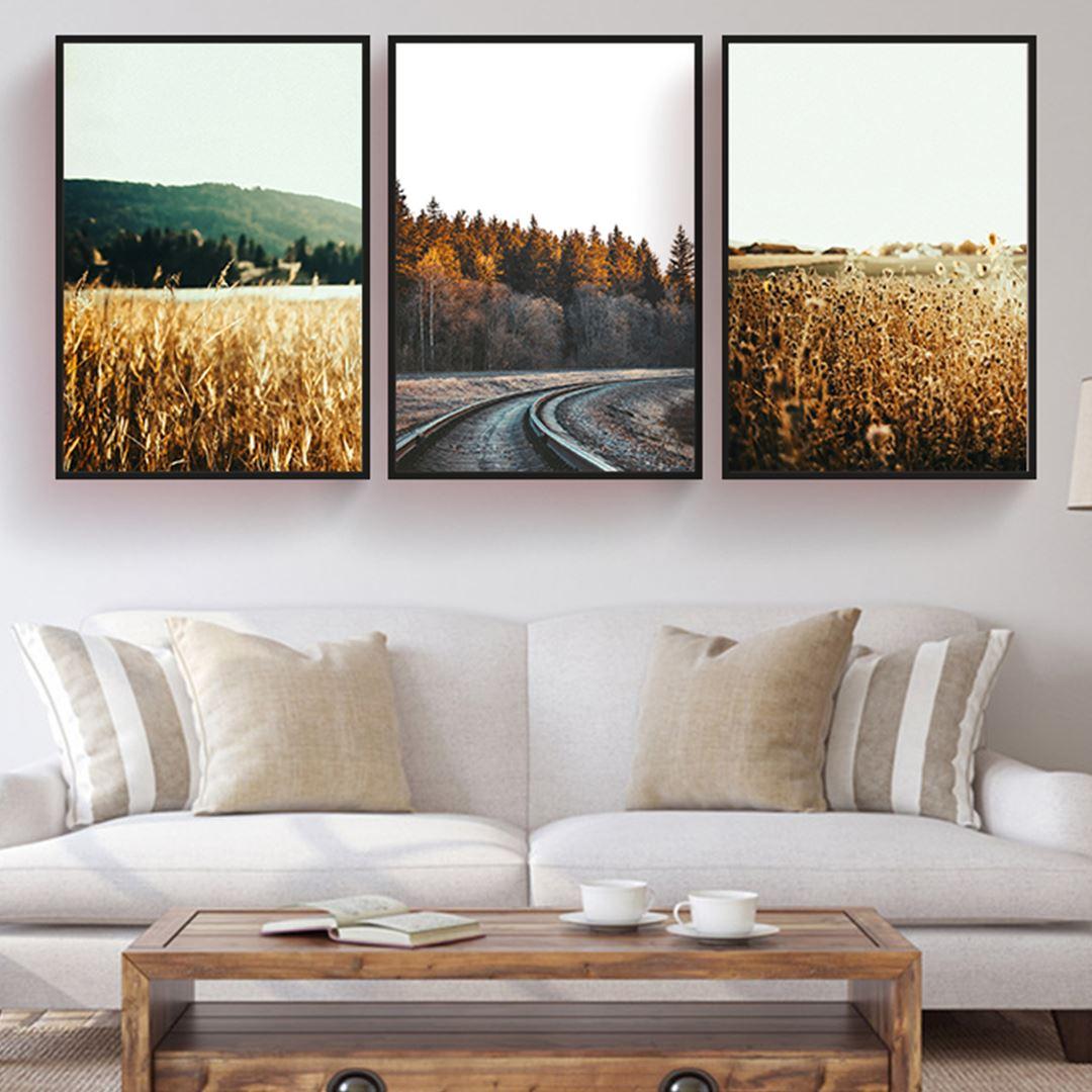 Modern Minimalist Manzara Kanvas Set
