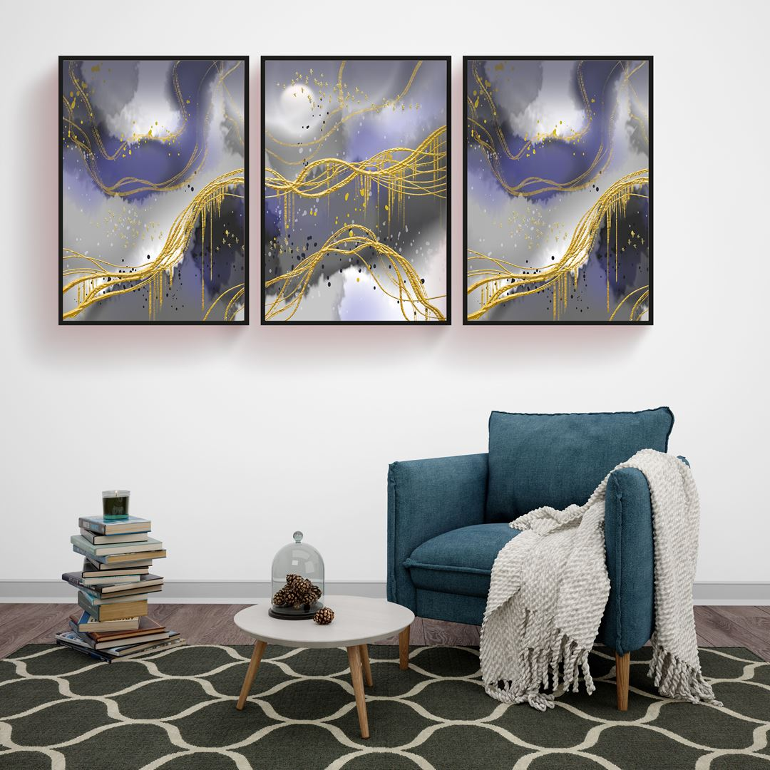 Modern Art Canvas Set