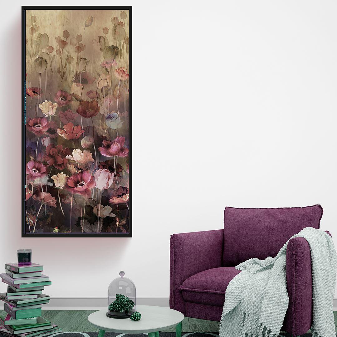 Panaromic Natural Flower's Canvas