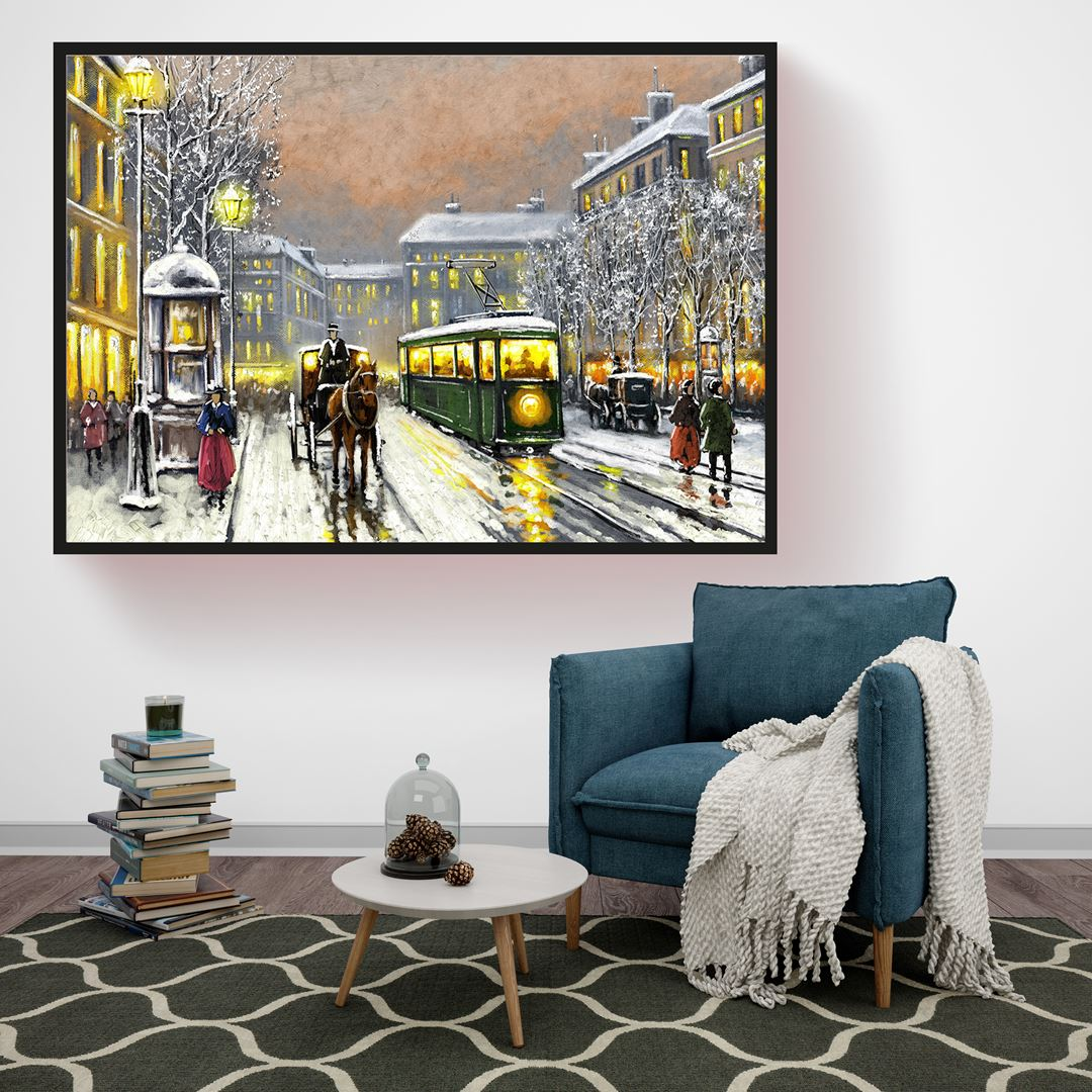 Old City Canvas