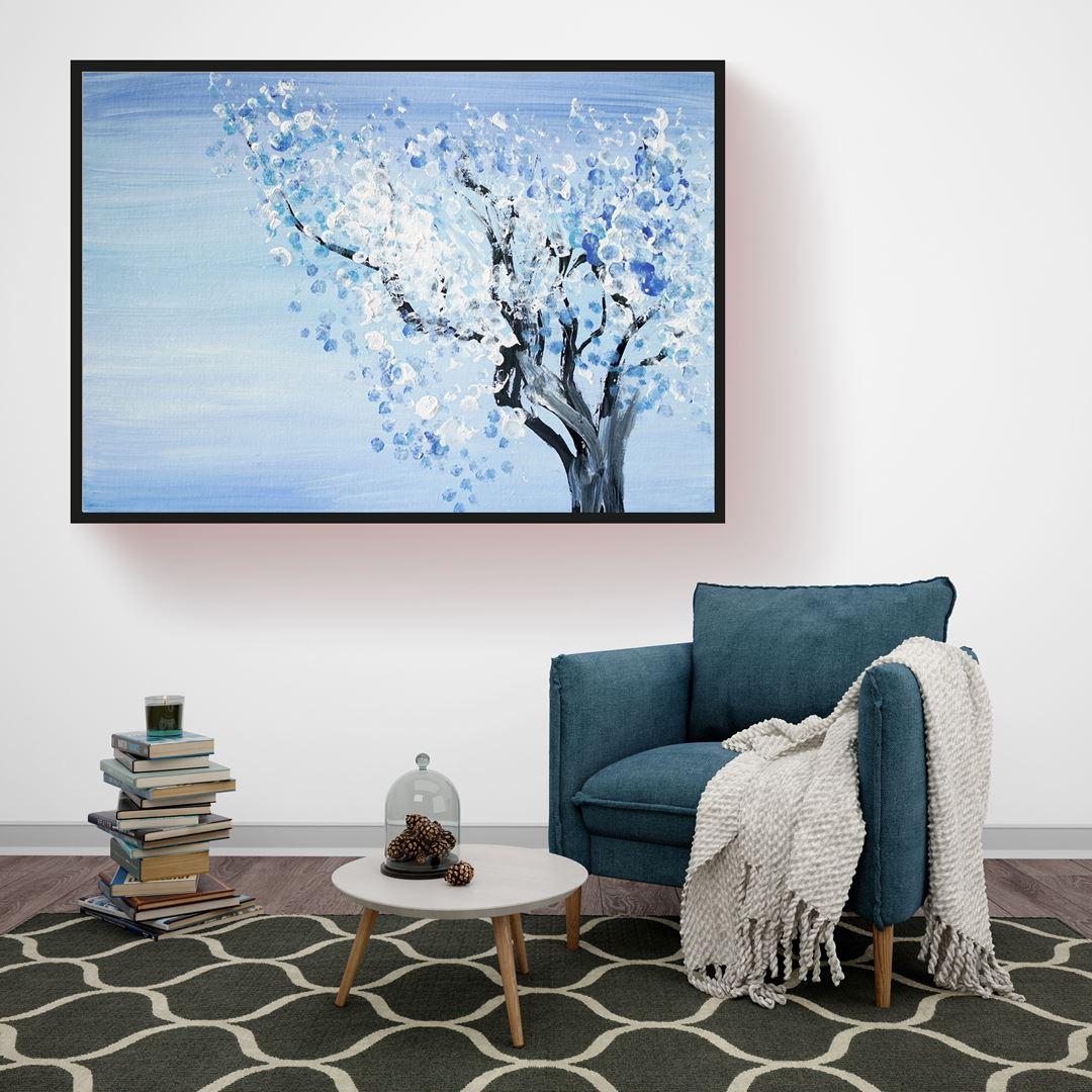 Winter Tree Canvas
