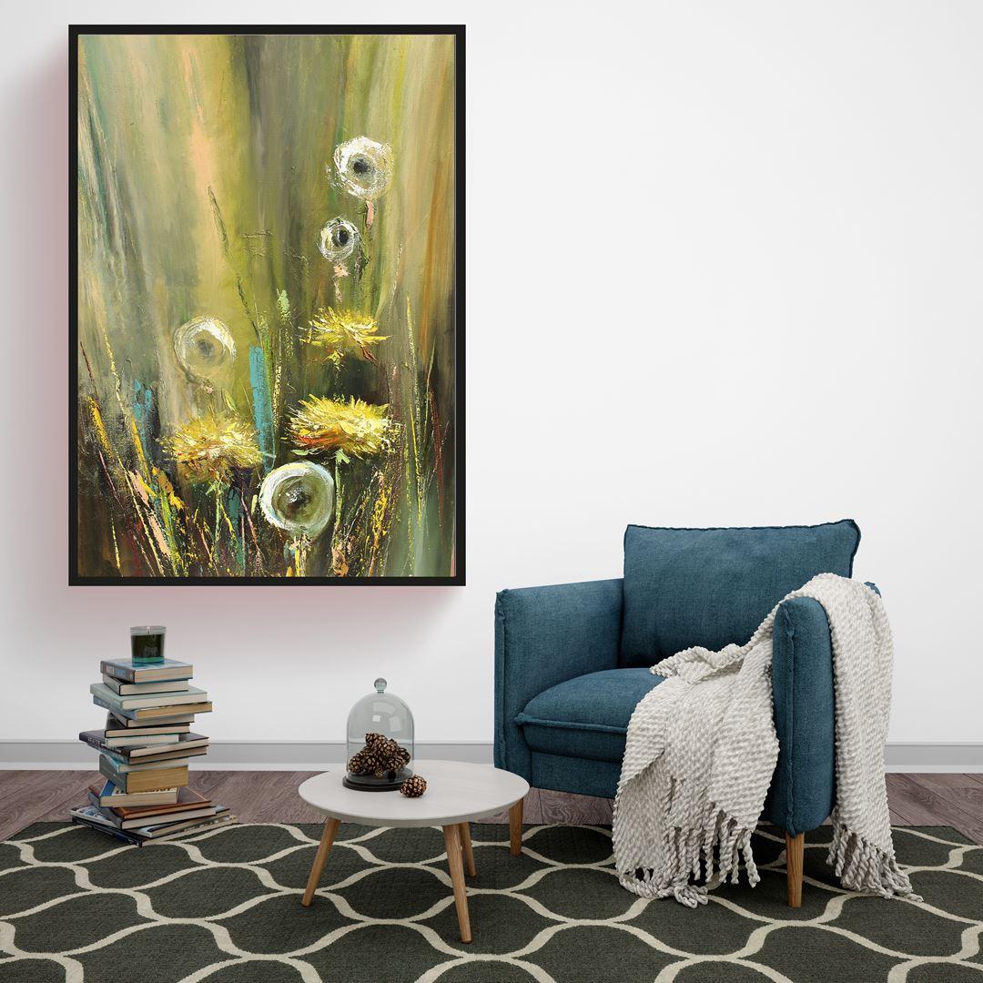 Oil Art Flower Canvas