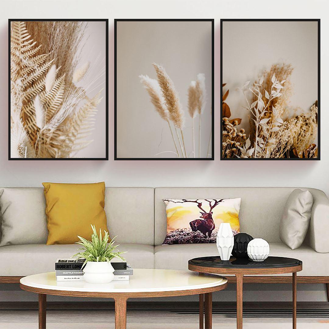 Dry Flower's Canvas Set