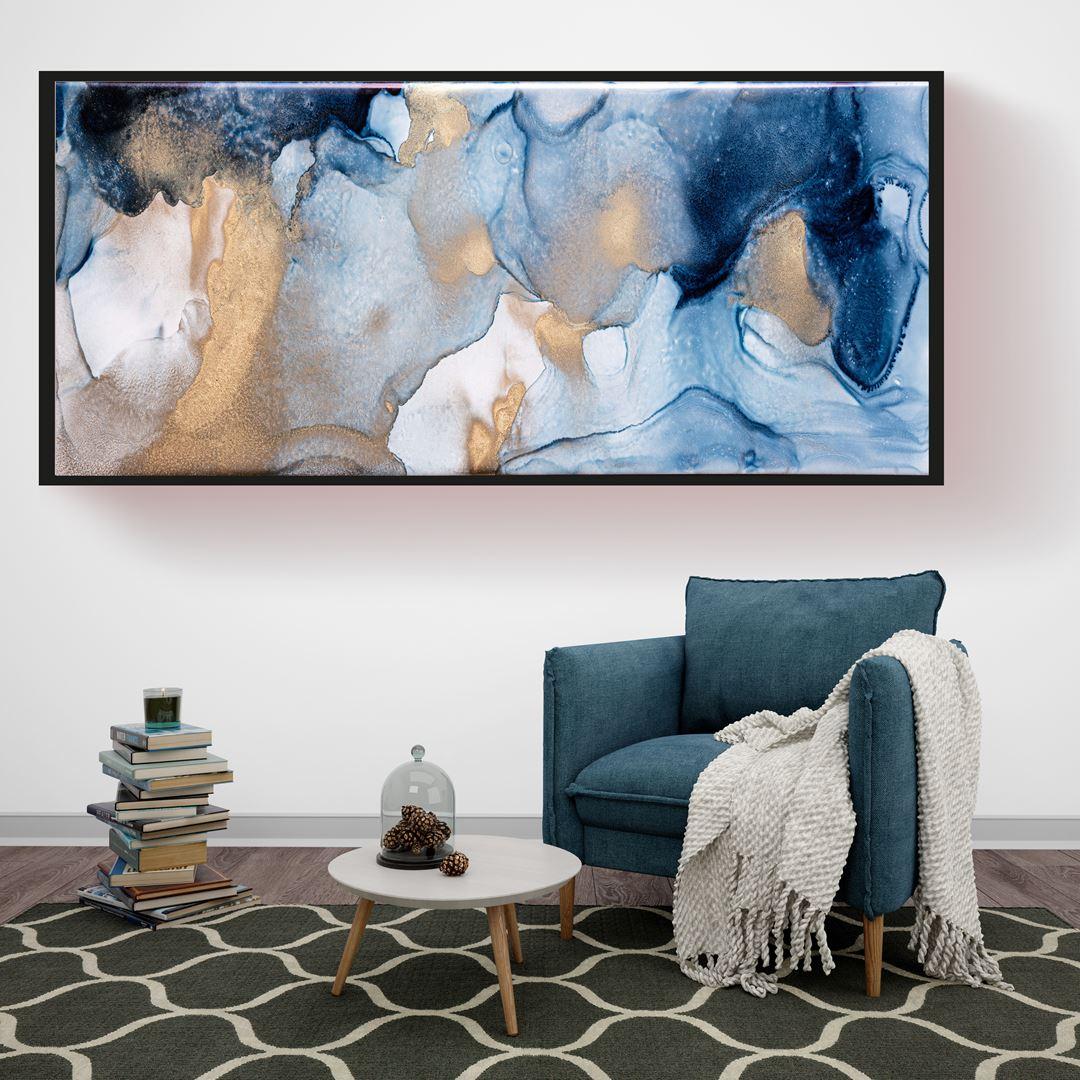 Abstract Art Panaromic Canvas