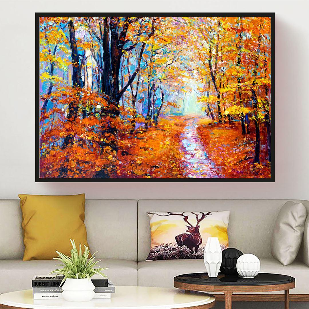 Autumn in Canvas