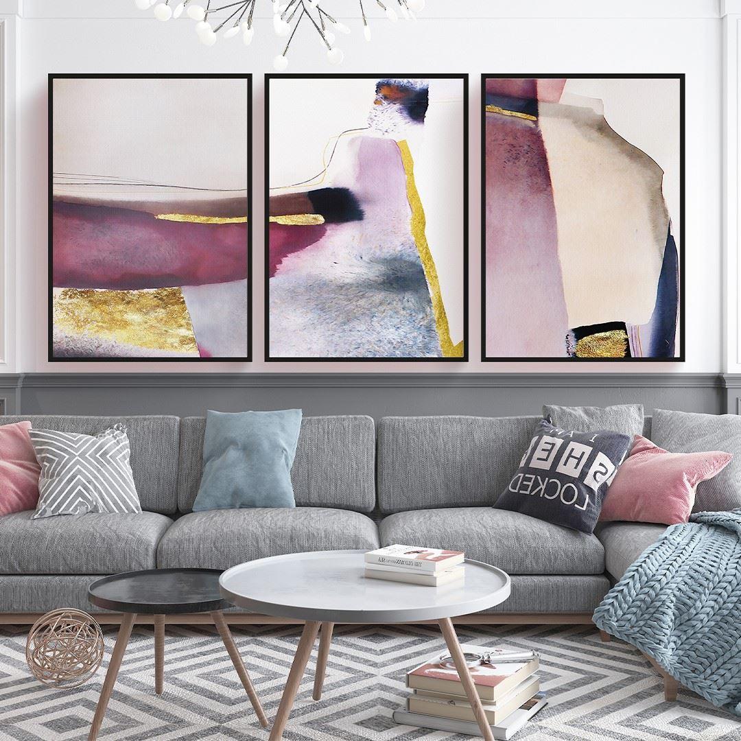 Trendy Art Decor Canvas Set