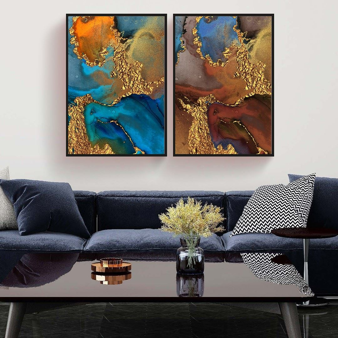 Abstract Art Canvas Set