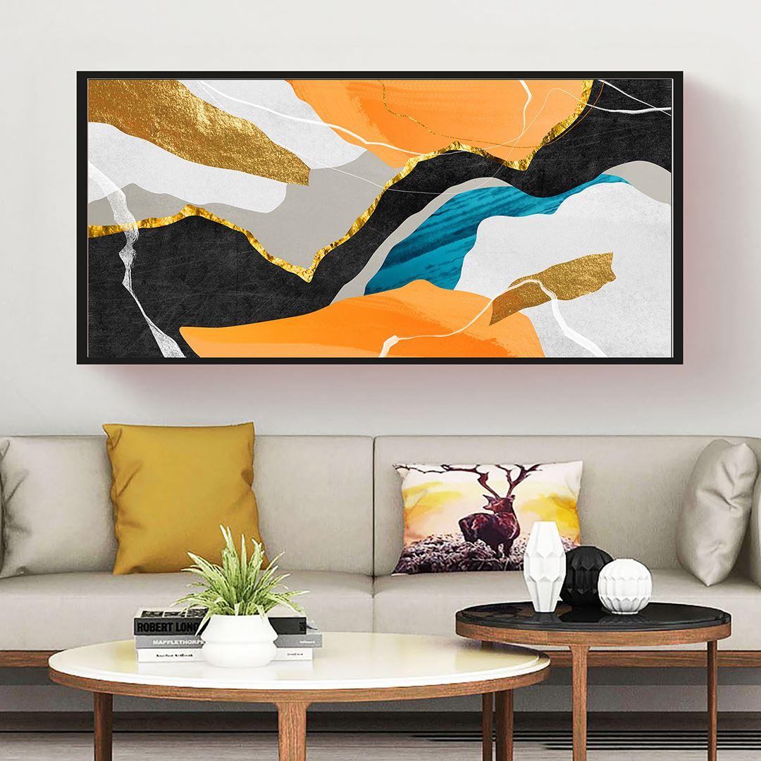 Trendy Art Panaromic Canvas
