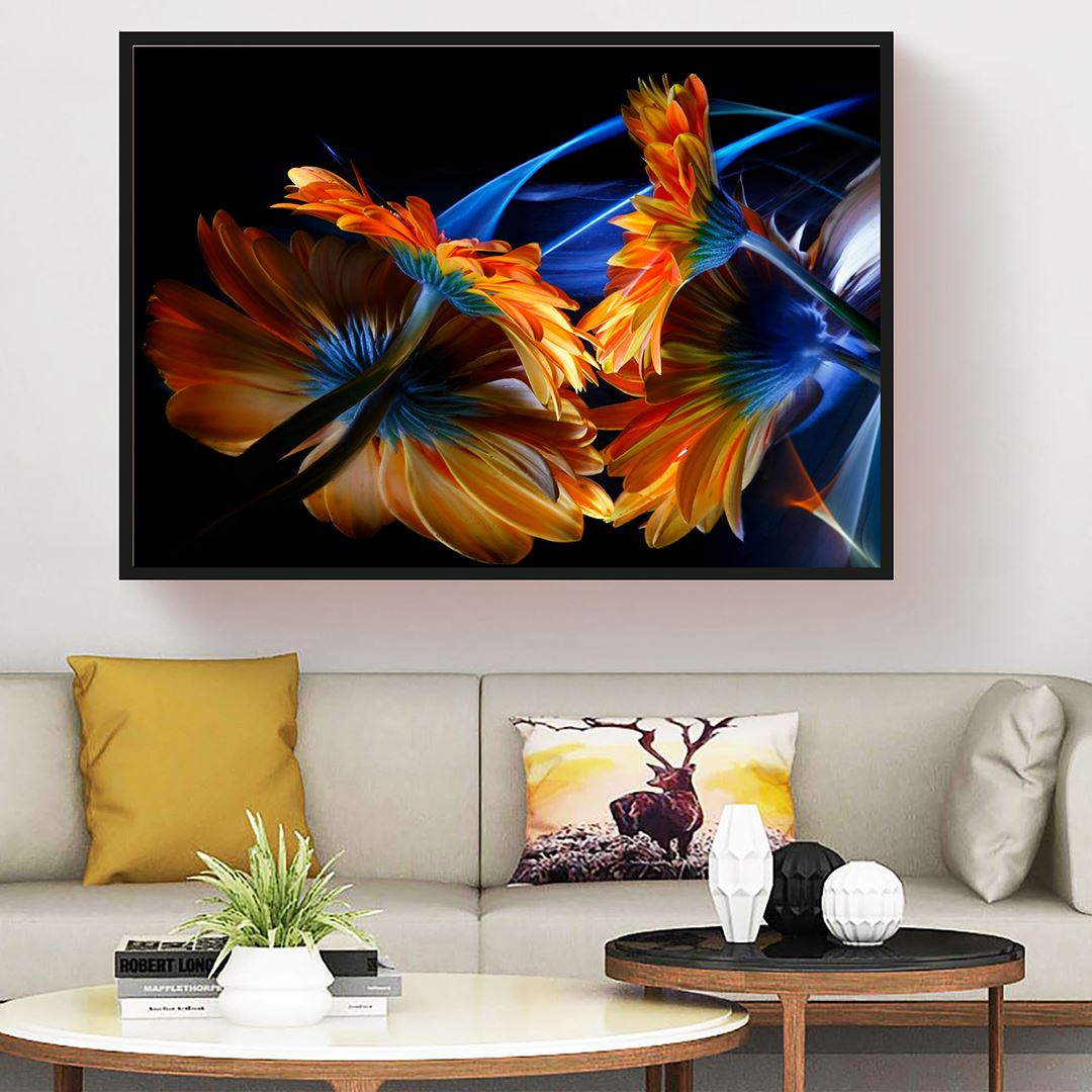 Luxury Floral Canvas