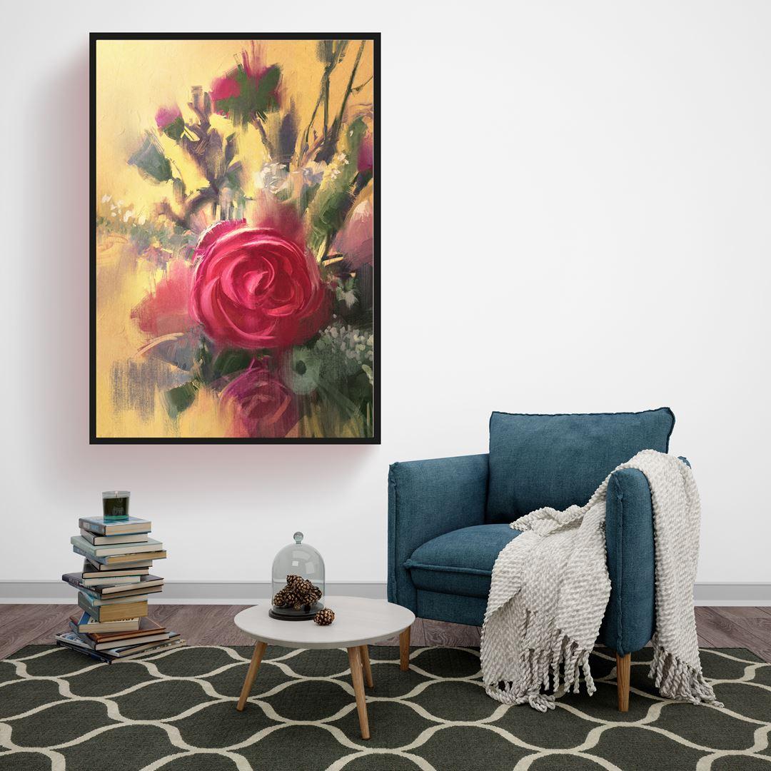 Modern Rose's Canvas
