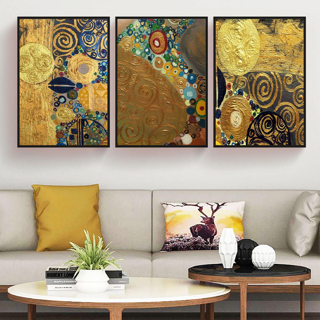 Modern Etnic Canvas Set
