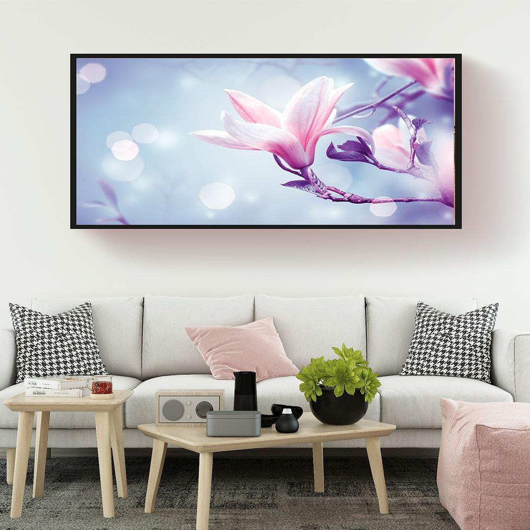 Natural Floral Panaromic Canvas