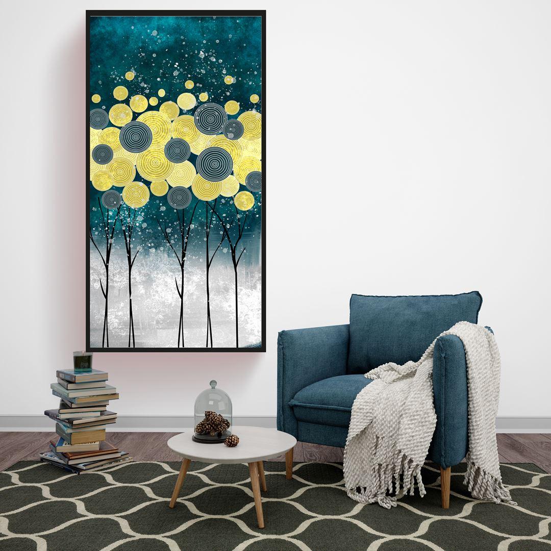 Luxurious Tree Canvas
