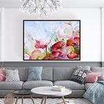 Natural Floral Kanvas Tablo
