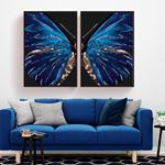 Luxury Butterfly Canvas Set