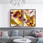 Soft Flower Canvas Set