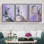 Spring Flower Set Canvas