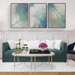 Luxury Abstract  Canvas Set