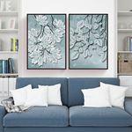 Modern Luxurious Tree Branch Canvas Set