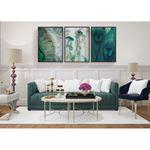 Modern Green Decor Canvas Set