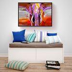 Happy Elephant Canvas