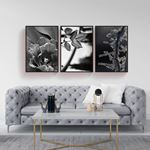 Black&White Canvas Set