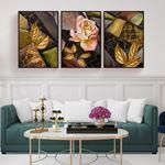 Luxury Flower Canvas Set