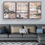 Winter Canvas Set